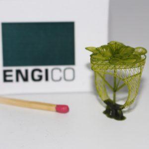 نمونه انگشتر پرینت شده با پرینتر سه بعدی طلاسازی