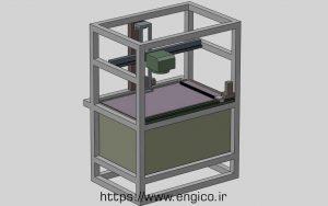 پرینتر سه بعدی SLA (ترکیبی موشن XY)