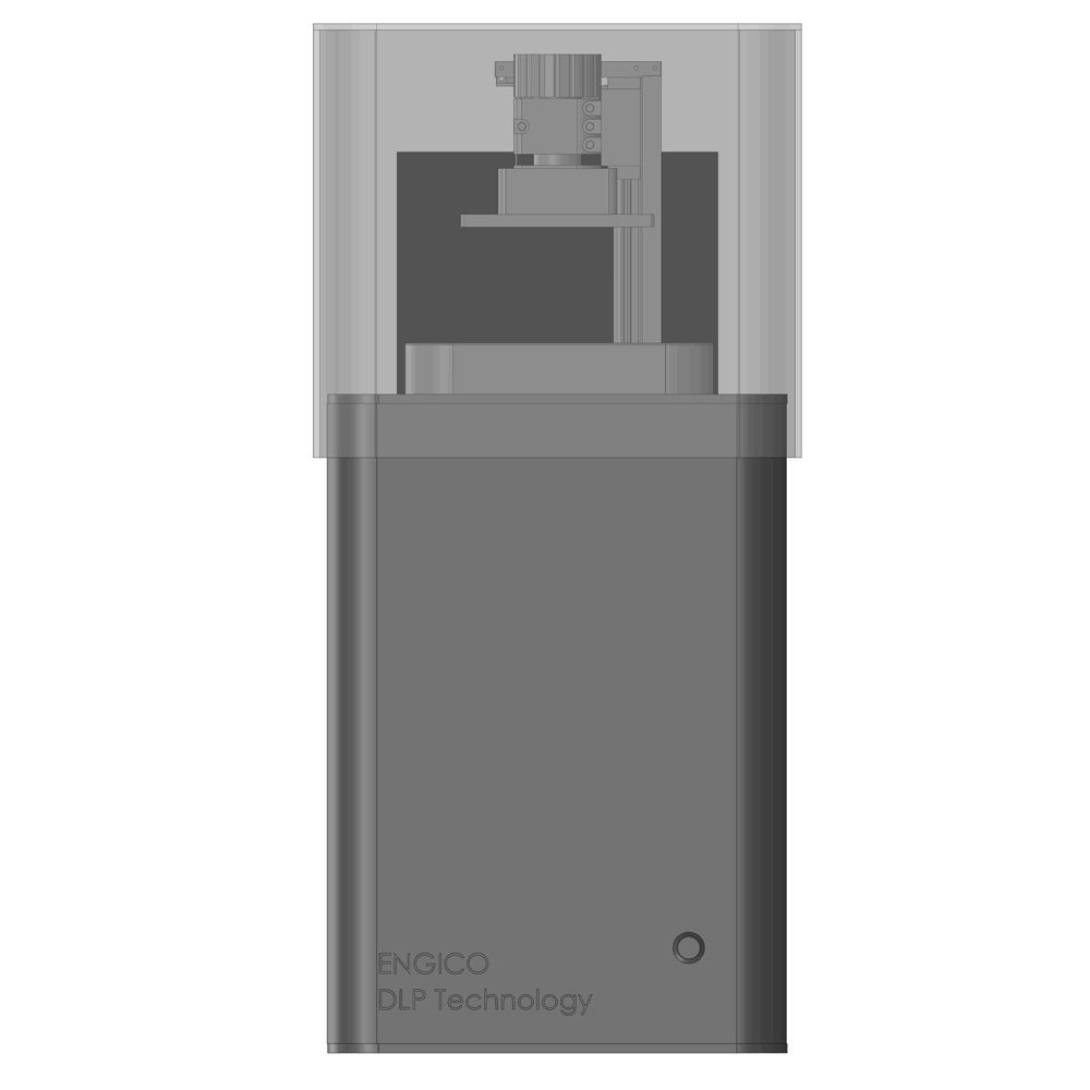 پرینتر سه بعدی DLP انجیکو