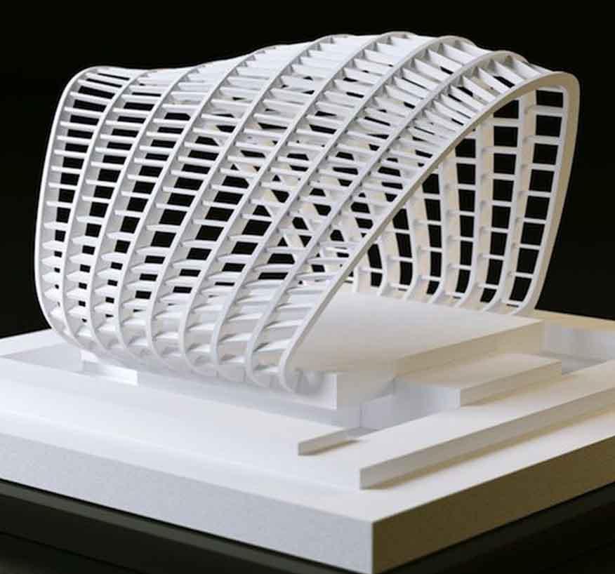خدمات معماری و ماکتسازی پرینتر سه بعدی